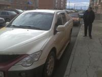 Ssang Yong Actyon Sport 2009 БЕЛЫЙ